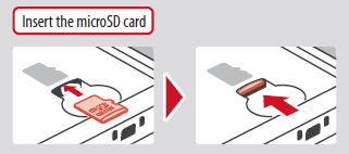 Nintendo Support How To Insert An Sd Card Or Microsd Card