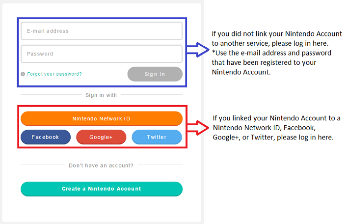 Nintendo Support Nintendo Account Overview Faq