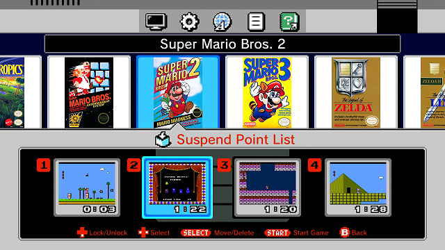 list of classic nintendo games