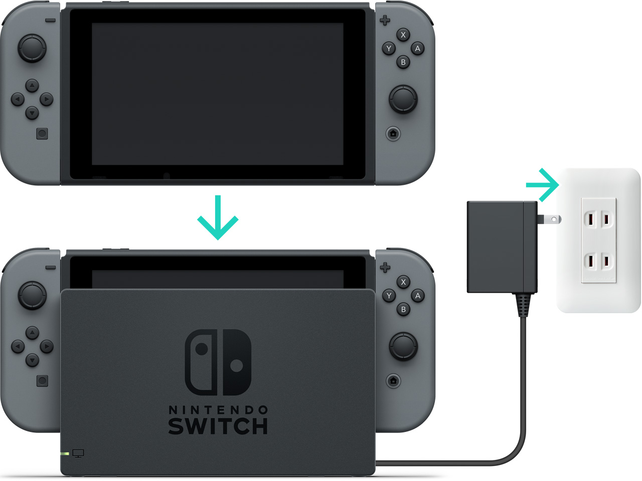 How to charge the nintendo switch console nintendo support - How to console into a switch ...