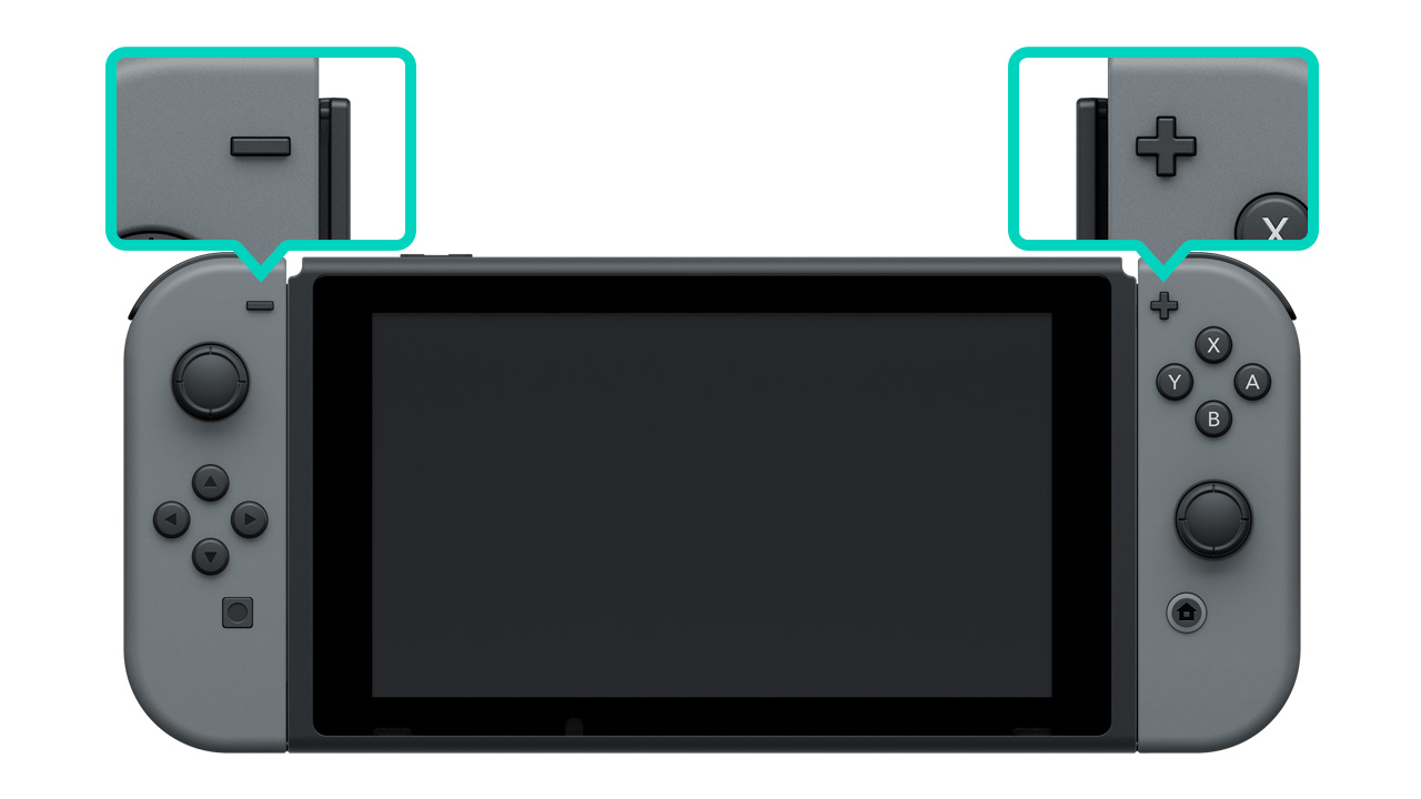 How to Attach/Detach the Joy-Con Controllers from Nintendo Switch ...