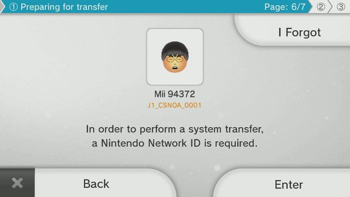 wii u link nintendo network id
