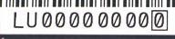 Wii serial number