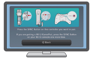 How to sync a wii remote with a wii u console nintendo support