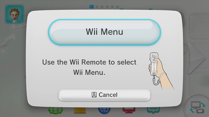 Updating nintendo wii system