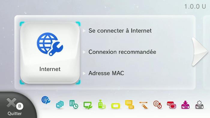 Comment connecter la console wii u un r seau wi fi - Comment connecter manette wii a la console ...